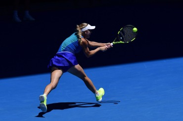 Caroline Wozniacki at The Australian Open 2017
