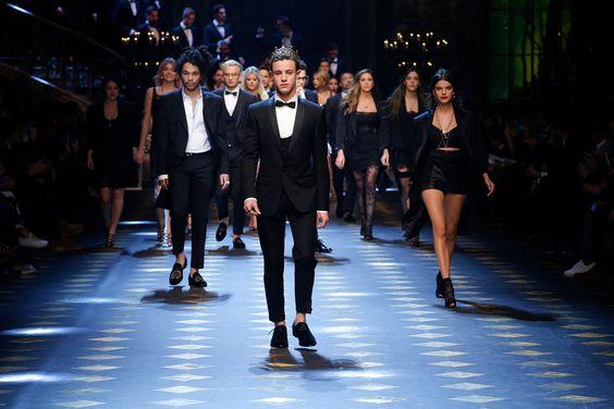Dolce Gabbana FW17 finale