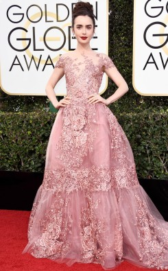 lily-collins-golden-globes-awards