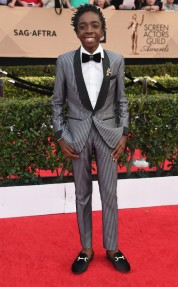 Caleb McLaughlin in Bookatailor. E! News