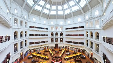 La Trobe Reading Room at the State Library of Victoria. source: https://www.slv.vic.gov.au/search-discover/our-magnificent-spaces