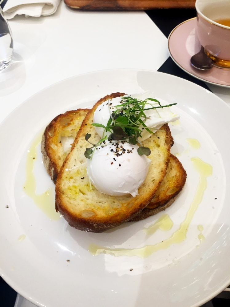 runya's room tea salon melbourne_poached eggs on toast