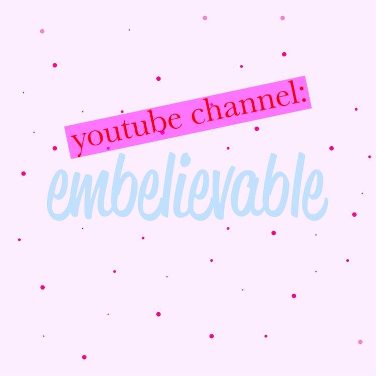 embelievable youtube channel insta promo